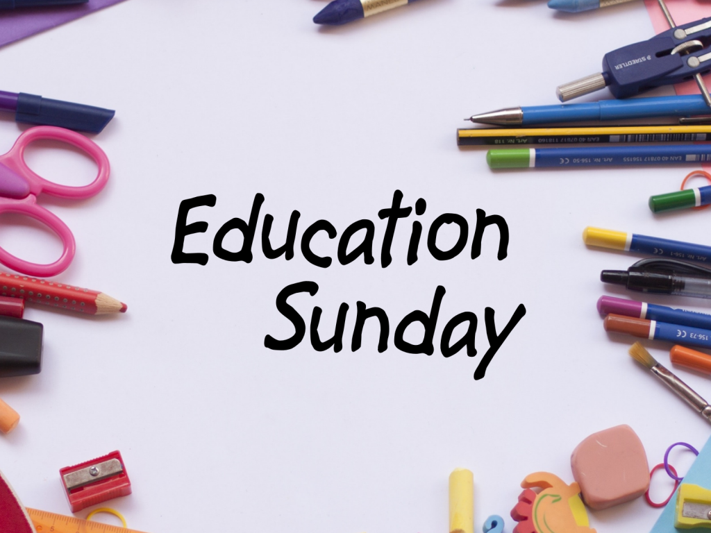 EducationSunday2018